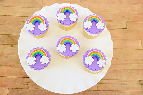 Rainbow Cupcakes, Birthday Cupcakes, Los Angeles Bakery, Sherman Oaks Bakery