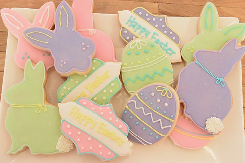 Easter Cookies, Easter, Los Angeles Bakery, Sherman Oaks Bakery