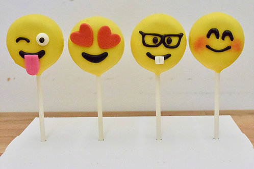 Emoji Cake Pops, Birthday, Los Angeles Bakery, Sherman Oaks, Bakery