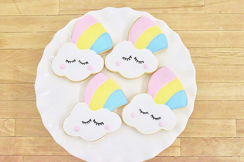 Unicorn Cookies, Rainbow Cookies, Los Angeles Bakery, Sherman Oaks Bakery
