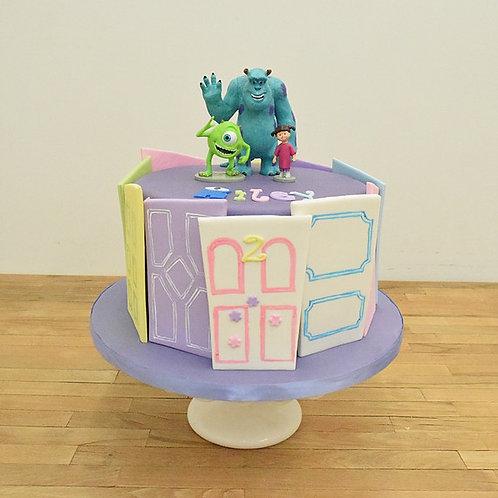 Monsters Inc Cake, Cookie Monster Cake, Los Angeles Bakery, Sherman Oaks Bakery