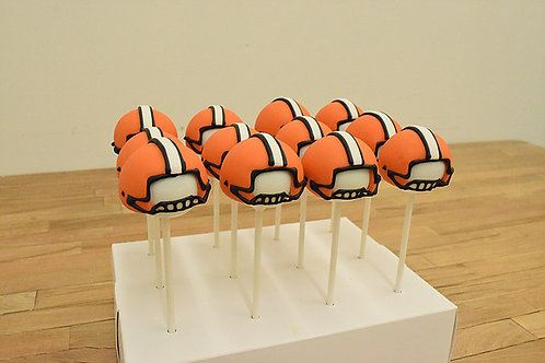 football cake pops, sports cake pops, Los Angeles Bakery. Sherman Oaks, Bakery