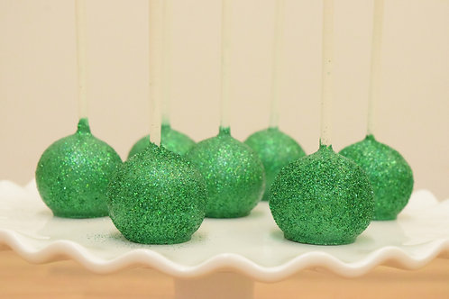 St Patricks Day Cake Pops, Green Cake Pops,  Los Angeles Bakery, Sherman Oaks Bakery
