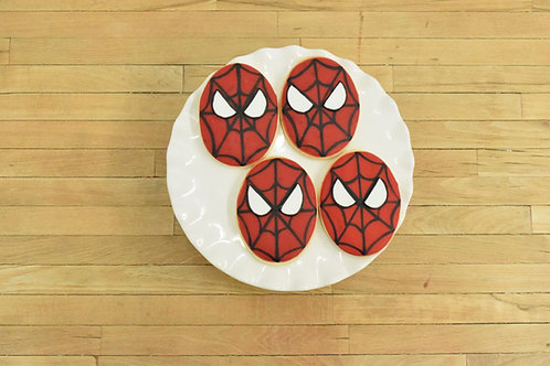 Spiderman Cookies Custom Cookies  Los Angeles Bakery Sherman Oaks