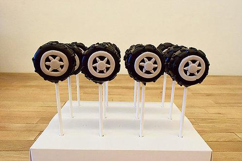 6 Tire Cake Pops