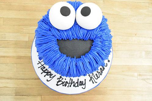 Cookie Monster Cake Sesame Street, Los Angeles Bakery, Sherman Oaks Bakery