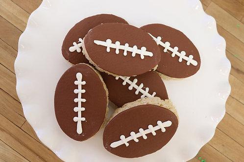 6 Football Rice Krispies