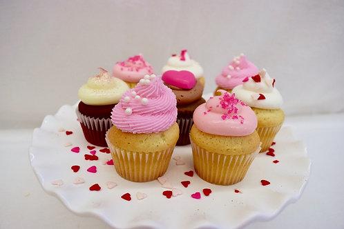 Valentines Cupcakes, Los Angeles Bakery, Sherman Oaks Bakery