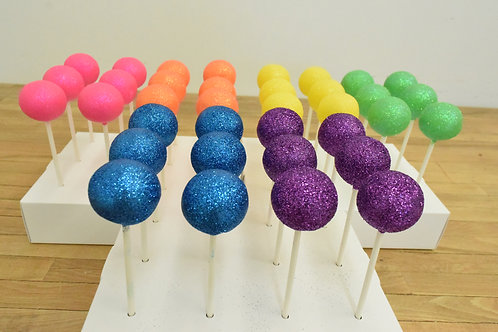 Rainbow Cake Pops, Los Angeles Bakery, Sherman Oaks Bakery