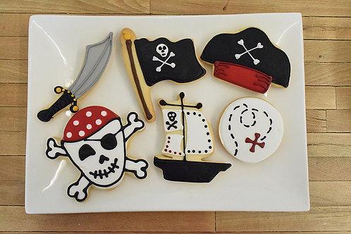 Pirate Cookies, Pirate, Los Angeles Bakery. Sherman Oaks Bakery