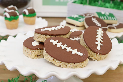 Football cupcakes, sport cupcakes, Los Angeles Bakery. Sherman Oaks, Bakery