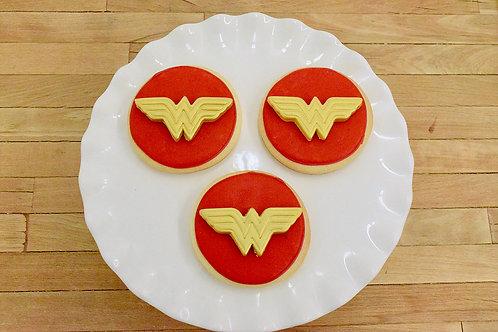 Wonder Woman Cookies  Los Angeles Bakery Sherman Oaks