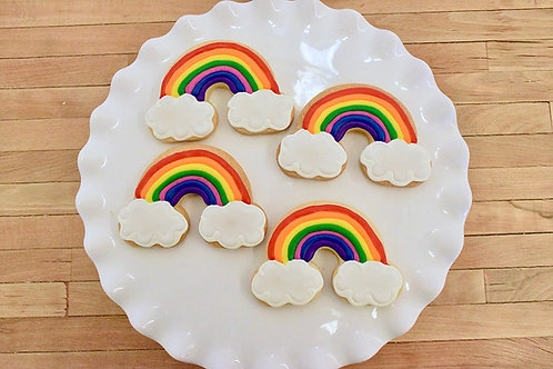 Rainbow Cookies, Birthday Cookies,Los Angeles Bakery, Sherman Oaks Bakery