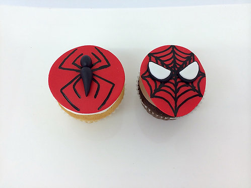 Spiderman Cupcakes Custom Cupcakes  Los Angeles Bakery Sherman Oaks