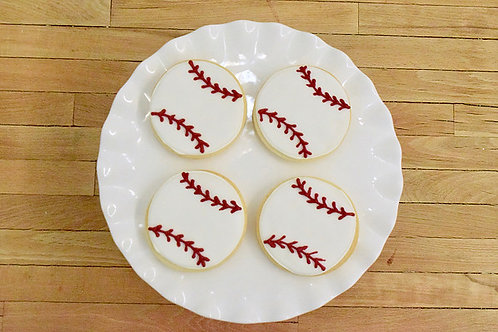 Baseballl cookies, sports cookies, Los Angeles Bakery. Sherman Oaks, Bakery