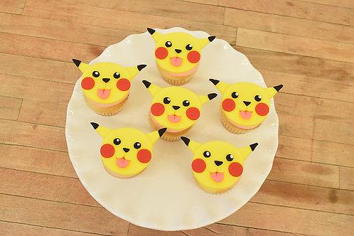Pokemon Cupcakes, Pikachu Cupcakes, Los Angeles Bakery, Sherman Oaks