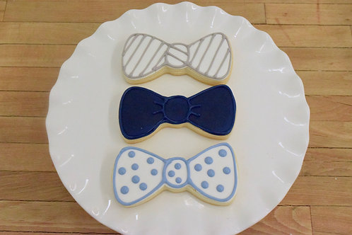 Little Man Cookies, Bowtie Cookies, Custom Cookies,Los Angeles Bakery, Sherman Oaks