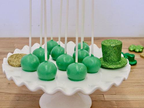 St Patricks Day Cake Pops,  Los Angeles Bakery, Sherman Oaks Bakery
