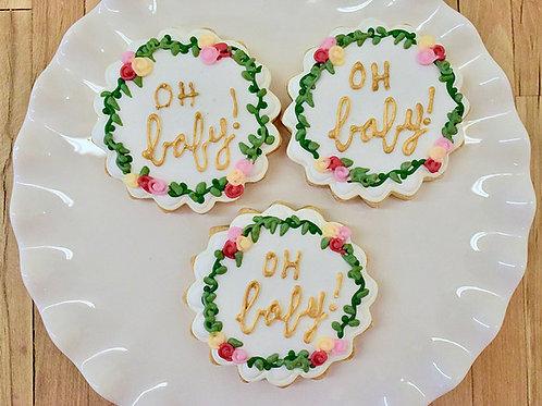 Baby Shower Cookies, Custom Cookies, Los Angeles Bakery, Sherman Oaks Bakery