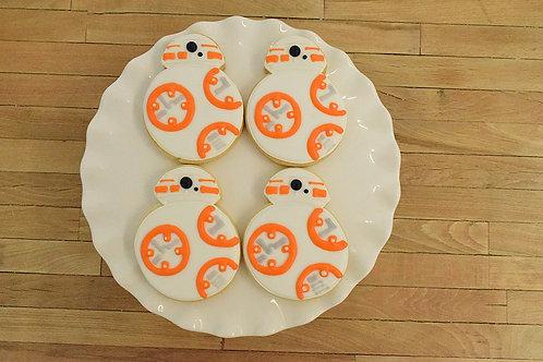 bb-8 Cookies, Star Wars Cookies, Los Angeles Bakery, Sherman Oaks