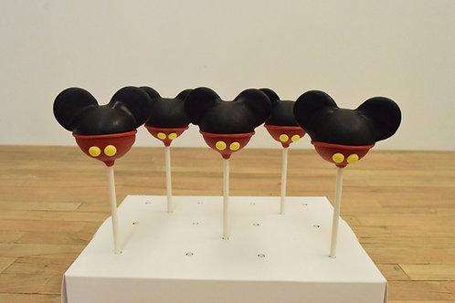 Mickey Cake Pops, Mickey Mouse, Los Angeles Bakery, Sherman Oaks Bakery