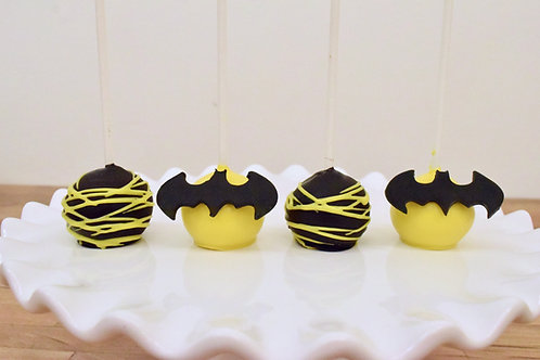 Batman Cake Pops  Los Angeles Bakery Sherman Oaks