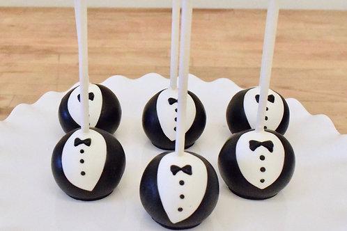 Groom Cake Pops, Wedding Cake Pops, Bridal Shower Cake Pops,Los Angeles Bakery, Sherman Oaks