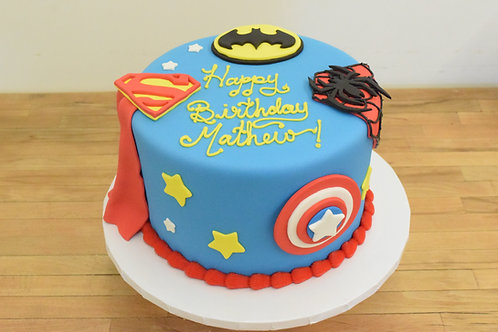 Super Hero Cake  Los Angeles Bakery Sherman Oaks
