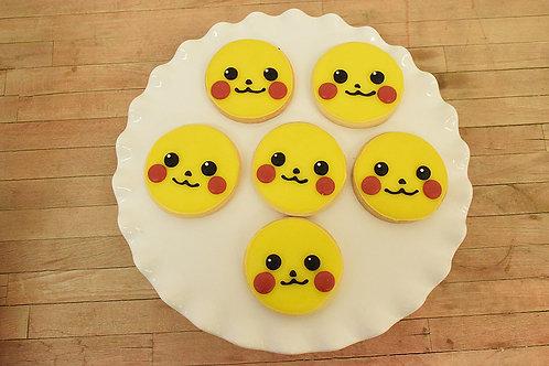 Pikachu Cookies, Pokemon Cookies, Los Angeles Bakery, Sherman Oaks