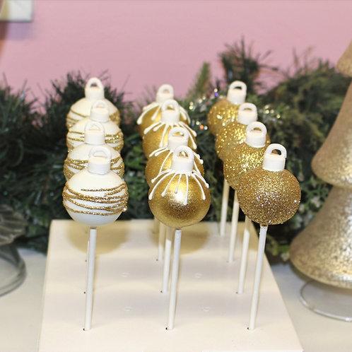 6 Ornament Cake Pops