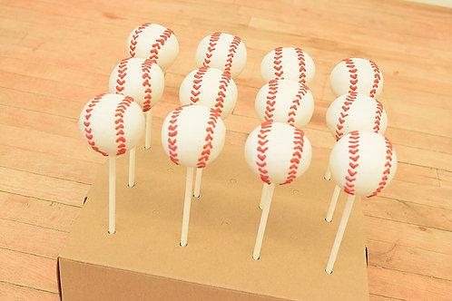 Baseball cake pops, sports cake pops, Los Angeles Bakery. Sherman Oaks, Bakery
