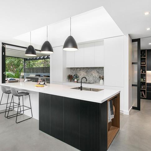 Designer Kitchen with Butler's Pantry