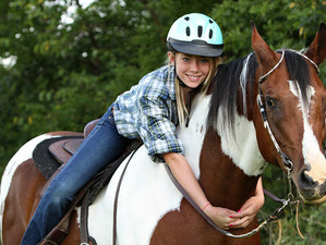 Horseback riding as equine therapy