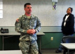Military social work program puts student boots on the ground