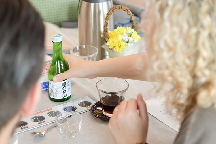 Class about Japanse Sake