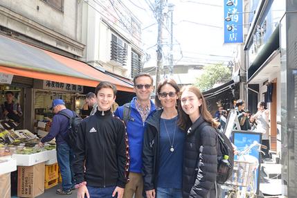 Tsukiji Fish Outer Market Tour