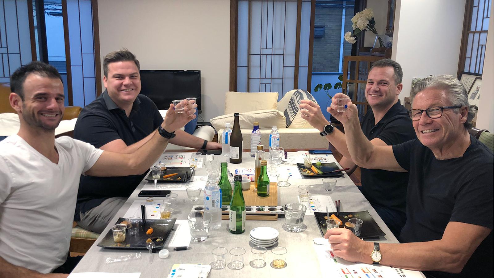 Sake activity in tokyo