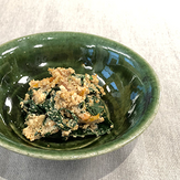hourensou gomaae spinach with sesami paste