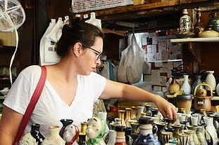 Japanese Ceramic shop in Tsukiji