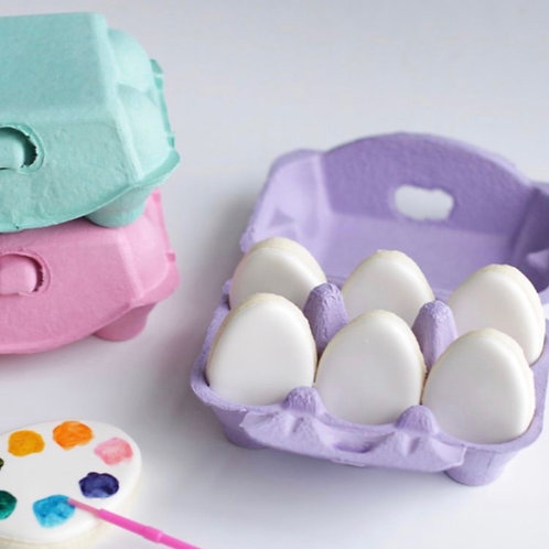 Paint Your Own Easter Egg Cookies