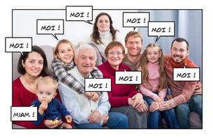 Qui recherchez-vous en premier sur une photo de famille ?