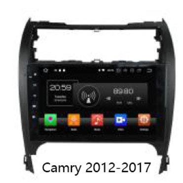 Toyota Camry 2007-2017 Android 8.1 Headunit Navigation Carplay