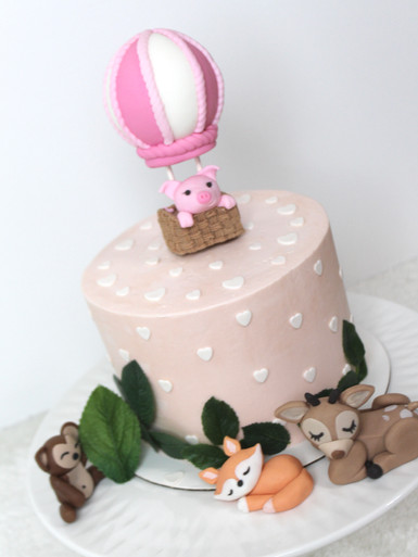 Animal Themed Cake