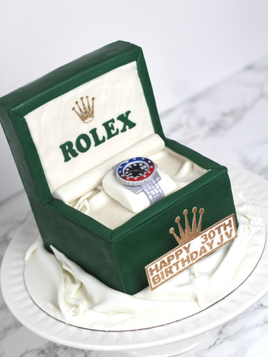 Rolex Pepsi Watch Cake