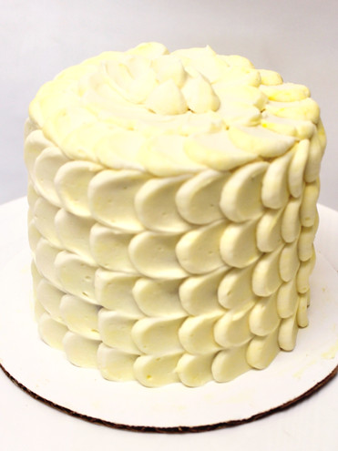 Fish Scale Buttercream Piping