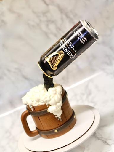 Gravity Defying Guinness Cake