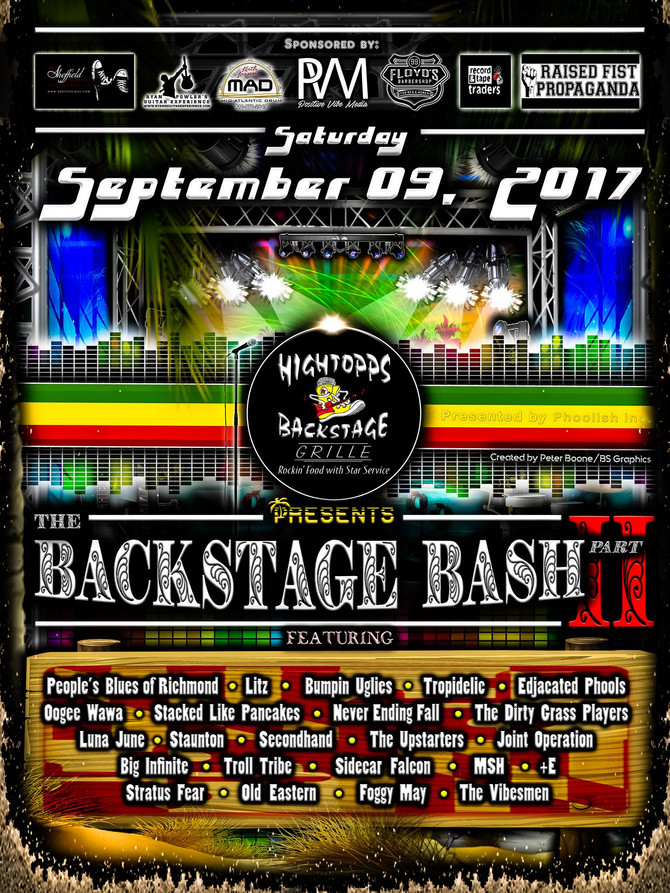 Hightopps Backstage Bash 2017!