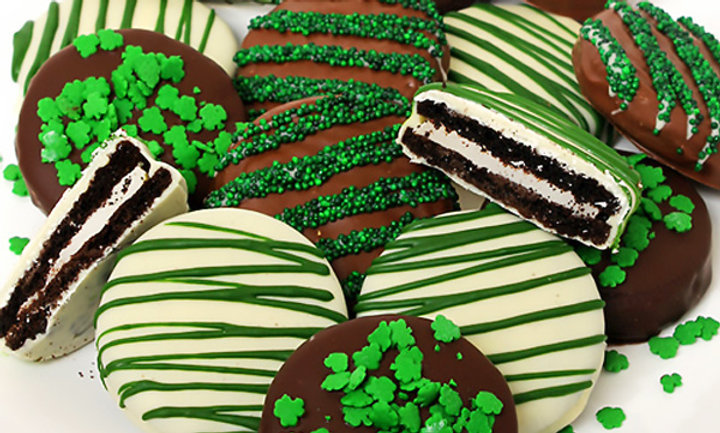 Shamrocked Oreo Cookies
