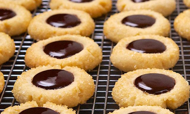 Chocolate Drop Top Cookies