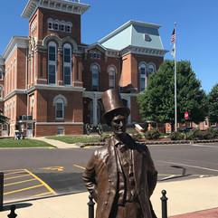 Abe Statue